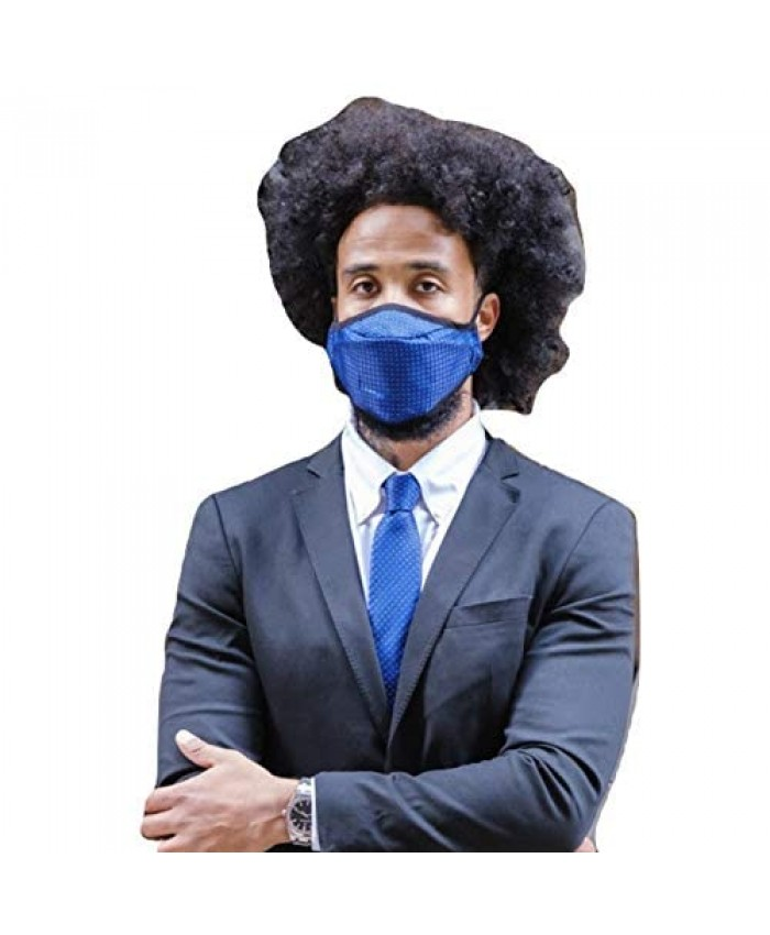 Mannequin.Club Men's Classic Business Necktie With Matching Face Mask Set