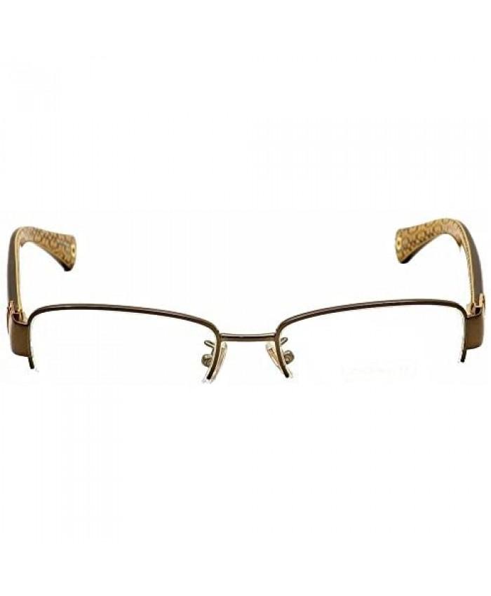 COACH Eyeglasses HC 5027B 9094 Dark Brown/Dark Tortoi 50MM