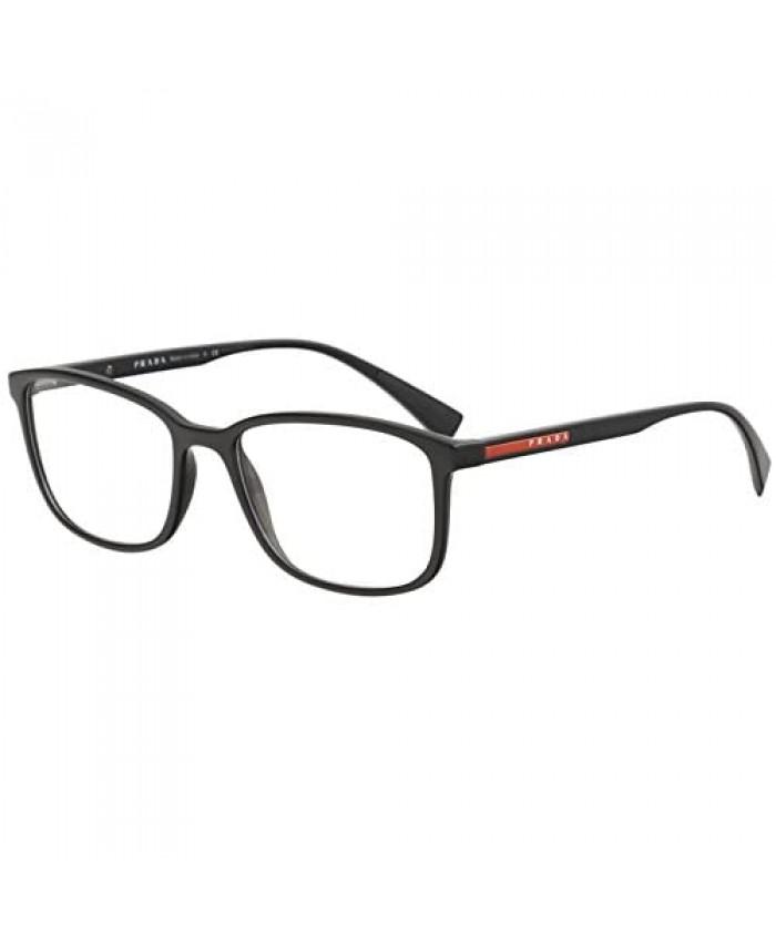 Eyeglasses Prada Linea Rossa PS 4 IV 1AB1O1 BLACK 55/18/140