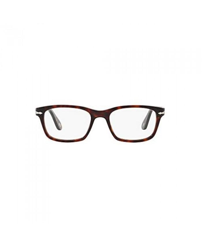Persol Men's Po3012v Square Prescription Eyeglass Frames