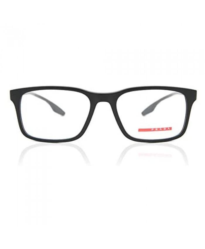 Prada Linea Rossa Eyeglasses VPS01L VPS/01L 1BO/1O1 Mt Black Optical Frame 54mm