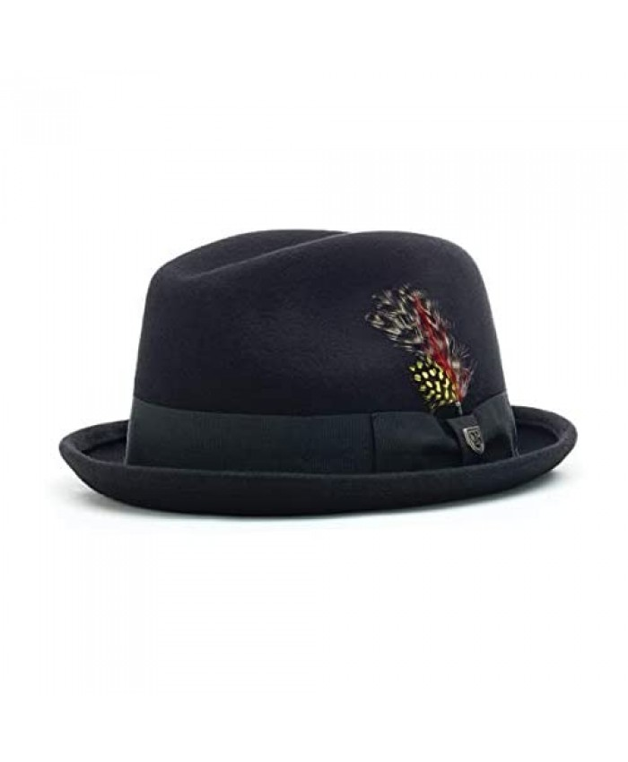 Brixton Men's Gain Fedora Hat