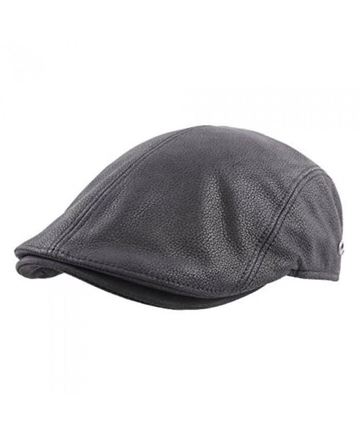Gottmann Jackson-L Leather Flat Cap