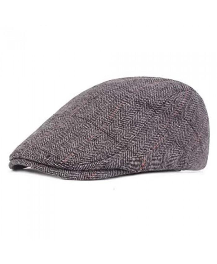 Mongous Classic Premium Wool Blend Beret Gatsby Newsboy Irish Hats Cabbie Cap