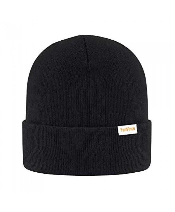Daily Beanie Men Women Winter Thermal Hats Cuffed Knit Skull Cap Warm Womens Mens Gifts
