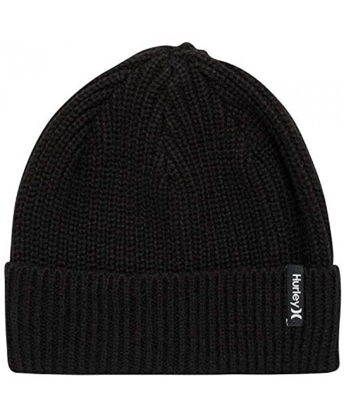 Hurley Men's Cuffed Beanie - Loose Knit Winter Hat