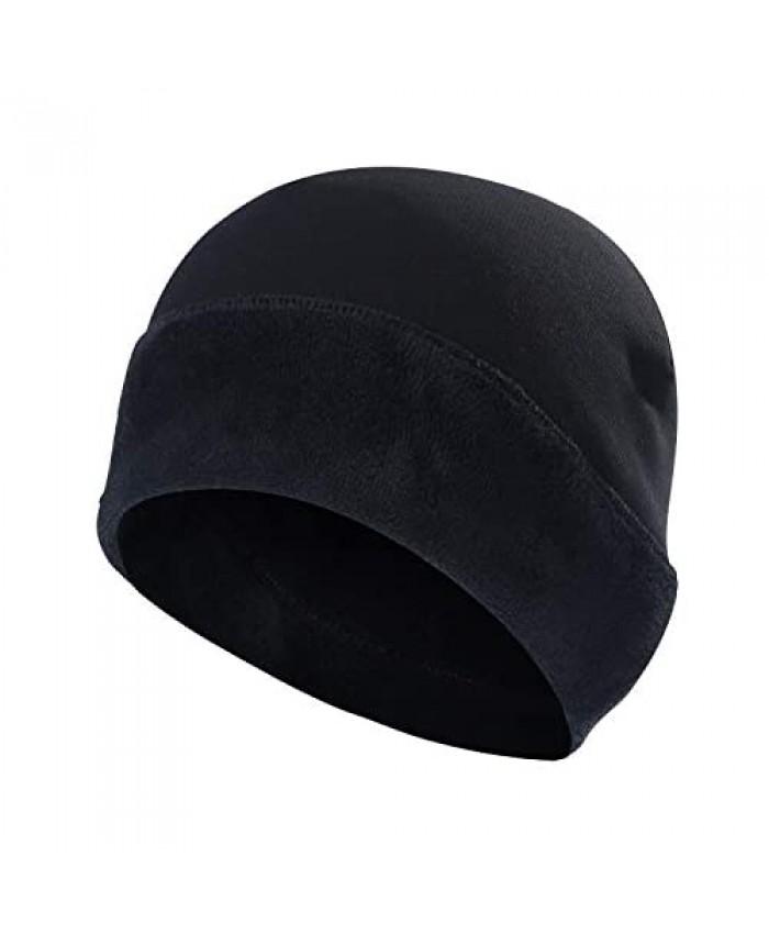 SUNMECI Beanie- Warmer Windproof Fleece Slouchy Soft Winter Hat Performance for Skiing Snowboarding & Daily Use Men Women