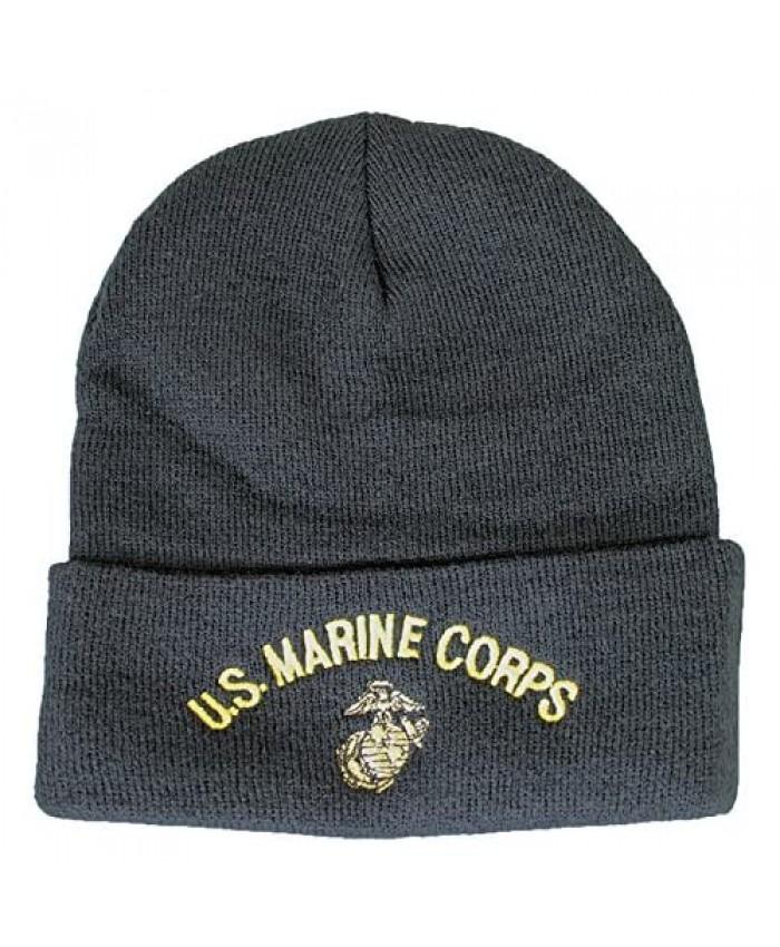 U.S. Marine Corps Knit Cap (Watch Cap) Black OS