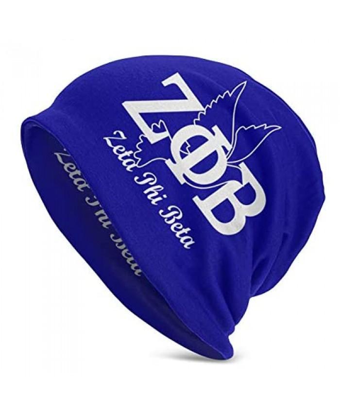 Zeta Phi B-ETA Skull Cap Beanie Hat Windproof Dustproof Knit Hat for Mens Womens