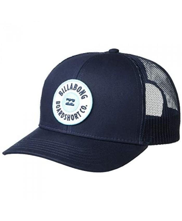 Billabong Men's Walled Adjustable Mesh Back Trucker Hat