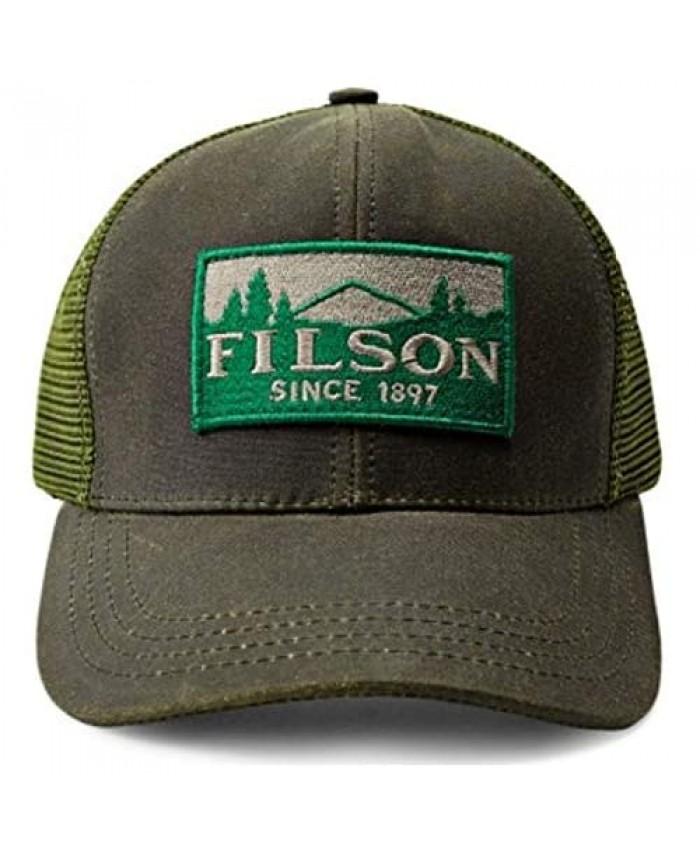 Filson Logger Mesh Trucker Cap for Men and Women