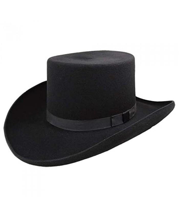 Bailey Western Dillinger Flat Top Hat