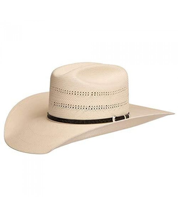 Stetson Hats Mens 10X Southpoint 4 1/2 Brim Straw Hat