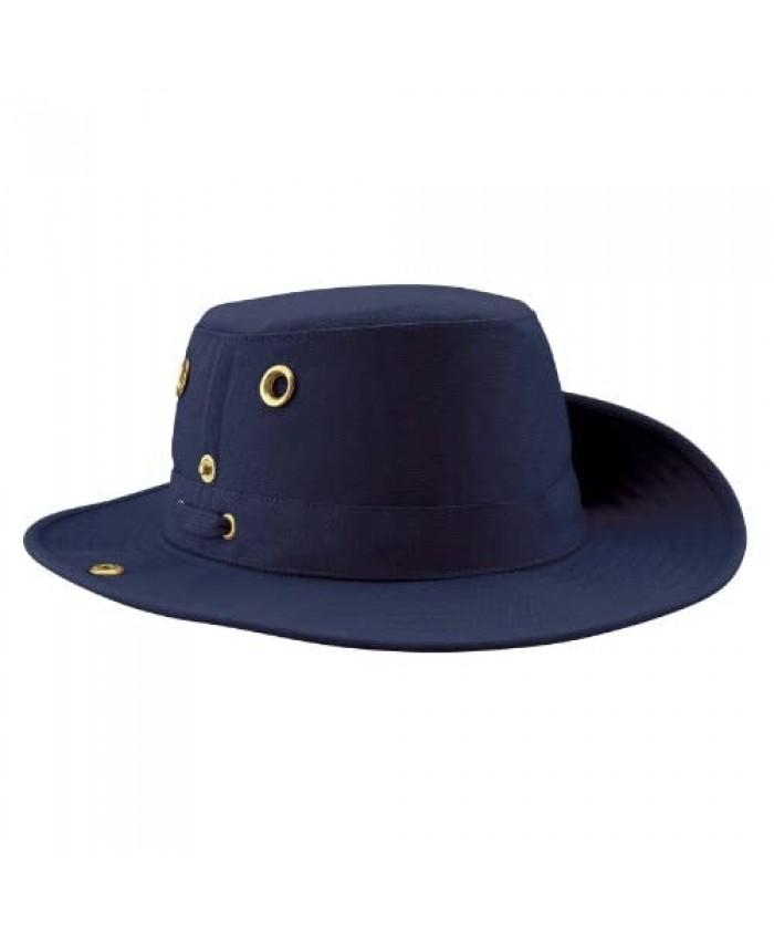 Tilley Unisex T3 Cotton Duck Snap-up Brim Hat 7 Navy