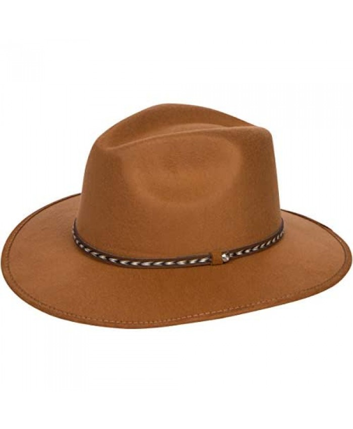 Western Cowboy Hat – Ultimate Cow Boy Cap – Outdoor Hat for All Seasons – Protects You Against Sun and Heat
