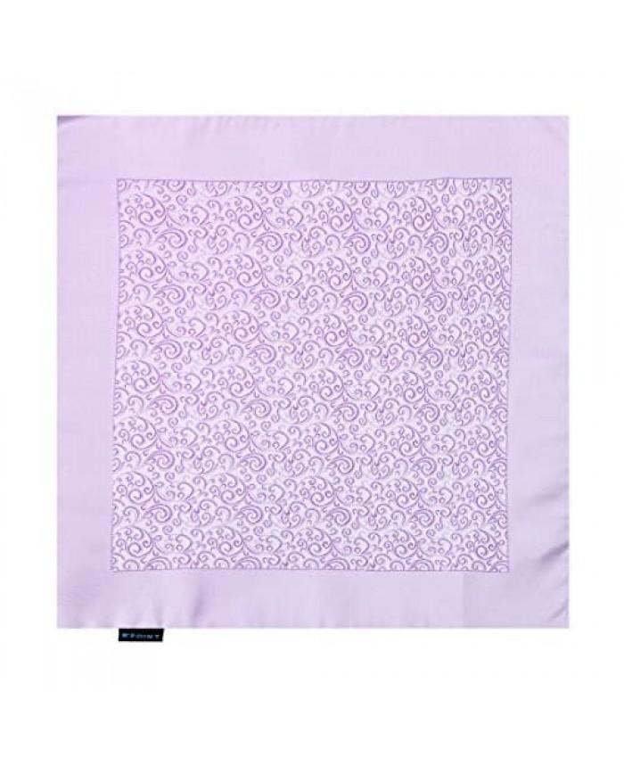Epoint Men's Fashion Groom Patterned Microfiber Handkerchief Inspire For Mens Hanky