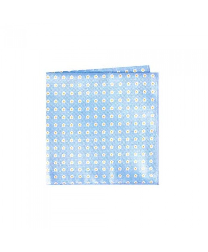 Forget Me Not Pocket Square Handkerchief by Masonic Revival (Light Blue)