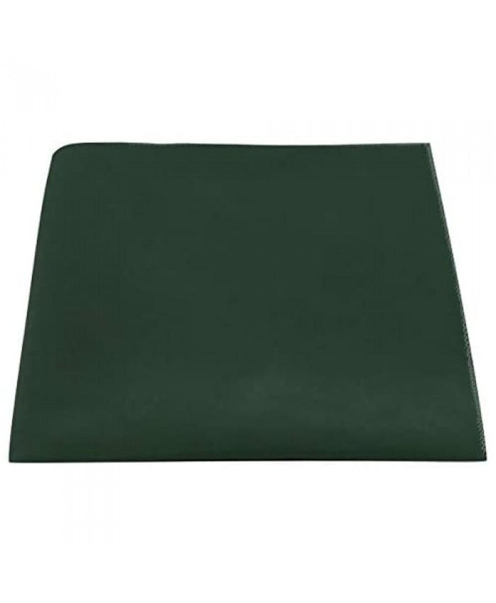 Luxury Dark Green Velvet Pocket Square
