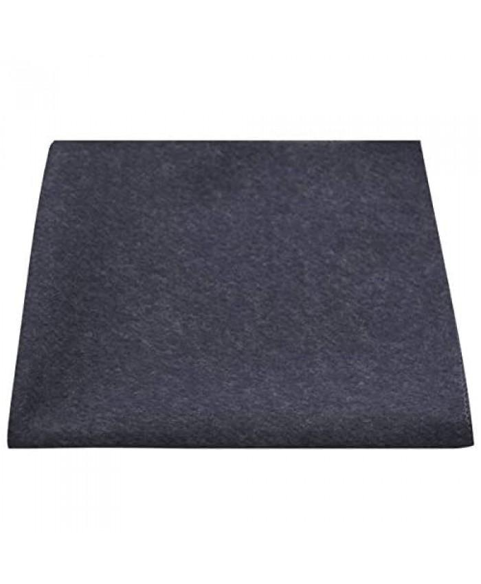 Luxury Navy Blue Donegal Tweed Pocket Square Handkerchief Tweed