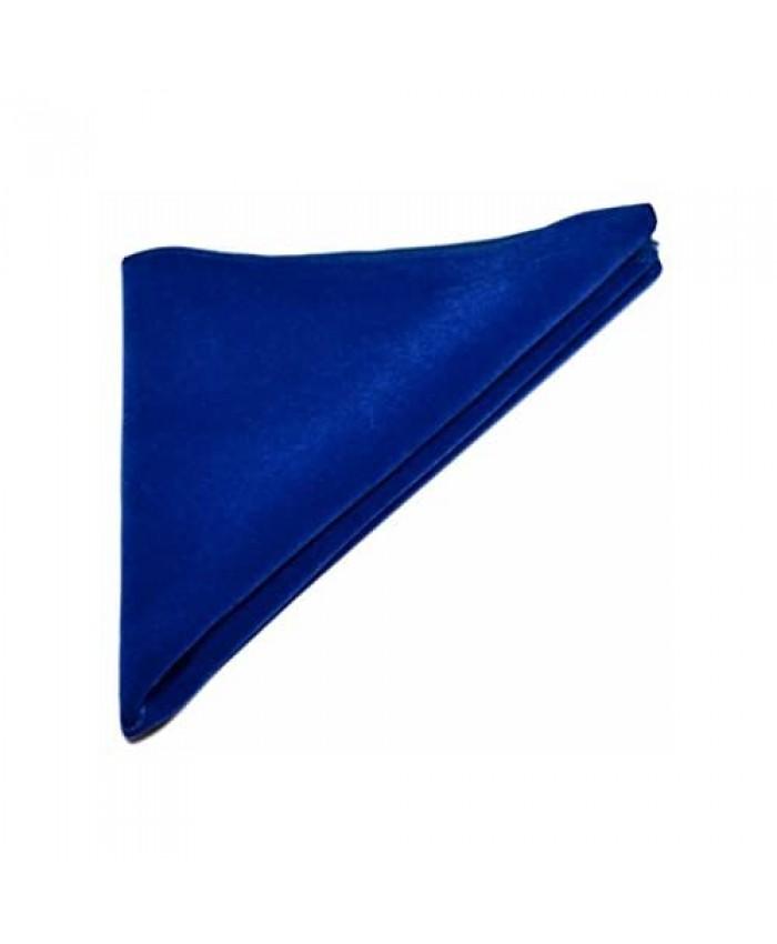 Luxury Royal Blue Velvet Pocket Square Handkerchief