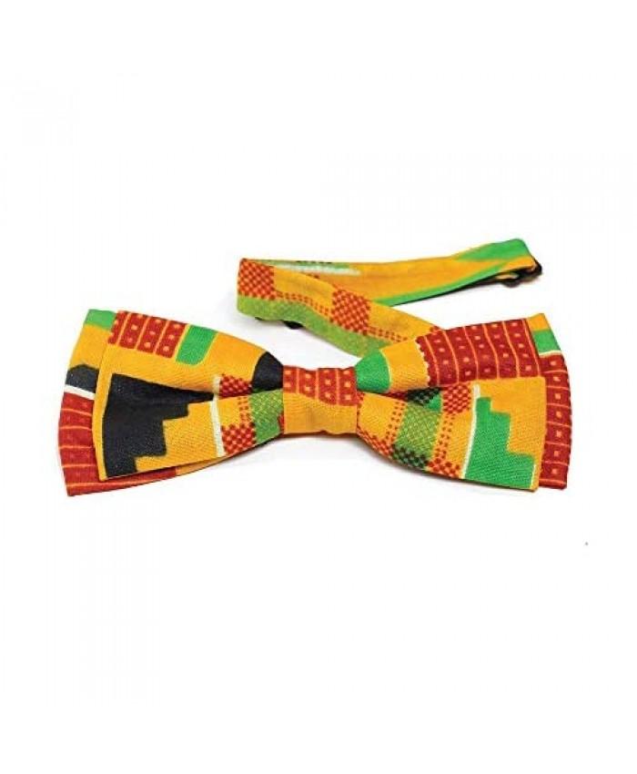 Kente Bow Tie #2 (Yellow)