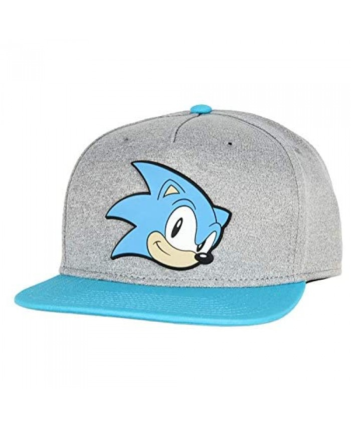 Bioworld Sonic The Hedgehog Face Snapback Youth Hat Gray