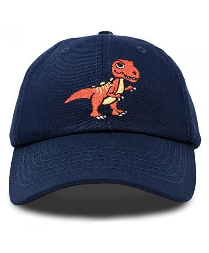 DALIX Tyrannosaurus Rex T-Rex Dinosaur Kids Hat Baseball Cap Girls Boys