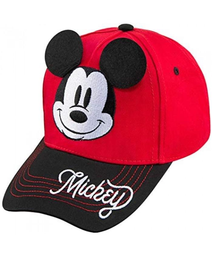 Disney Boys Mickey Mouse Baseball Cap - Ages 2-7