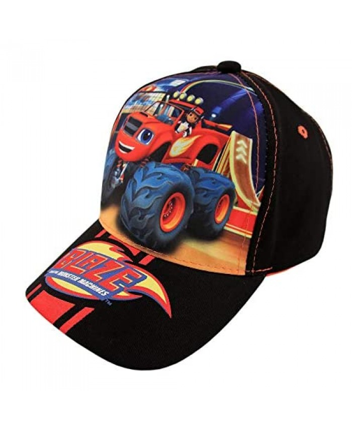 Nickelodeon Boys Blaze and The Monster Machines Cotton Baseball Cap (Ages 2-4)