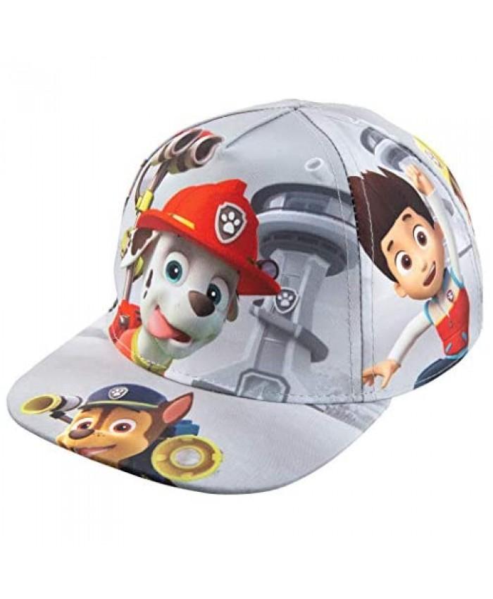 Nickelodeon Toddler Paw Patrol Character Boys Baseball Cap 100% Cotton - Age 2-5 Gray