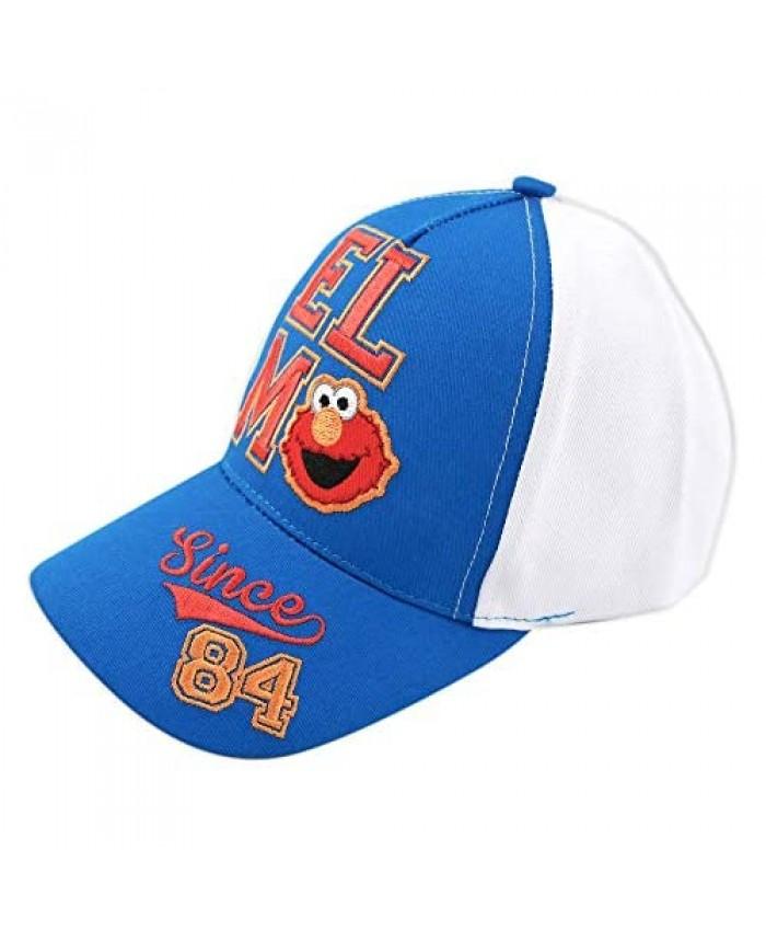 Sesame Street Toddler Hat for Boy's Ages 2-7 Elmo/The Simpsons Kids Baseball Cap