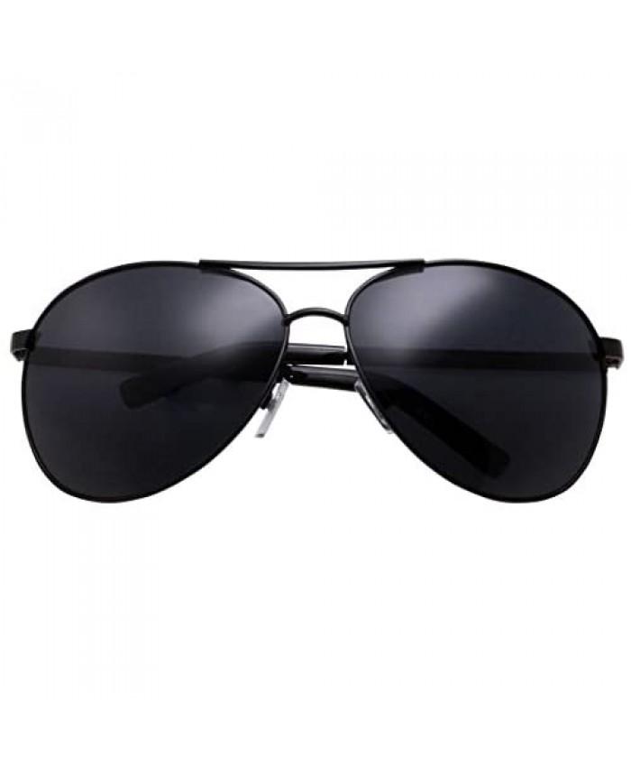 grinderPUNCH - Big XL Wide Frame Extra Large Aviator Sunglasses Oversized 148mm