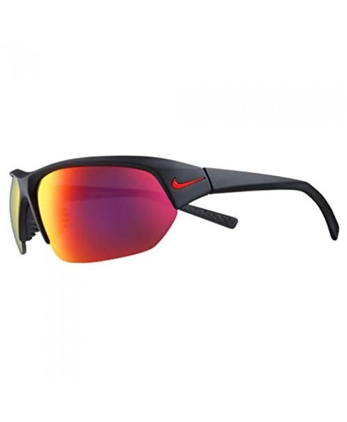 Nike EV1125-006 Skylon Ace Sunglasses Matte Black Frame Color Grey with Infrared Mirror Lens Tint