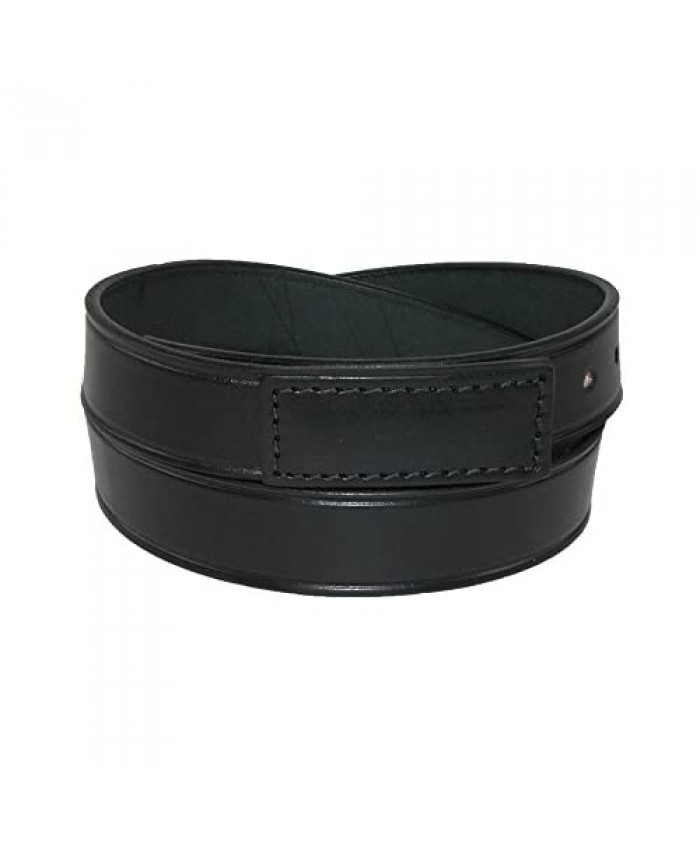 Boston Leather Men's Leather Movers & Mechanics No Scratch Work Belt