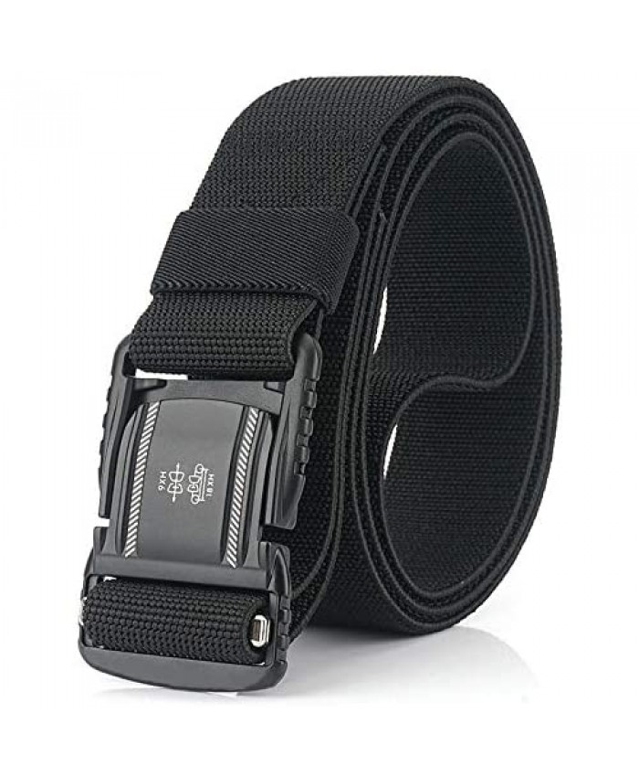 DEYACE Magnetic Belt 1.5Inches Tactical Belt with Magnetic Aluminum Buckle for Men and Women
