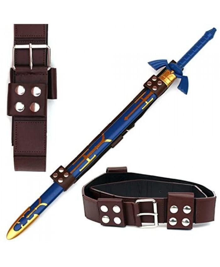 Link Hyrule Zelda Sword Leather Belt Strap One Size
