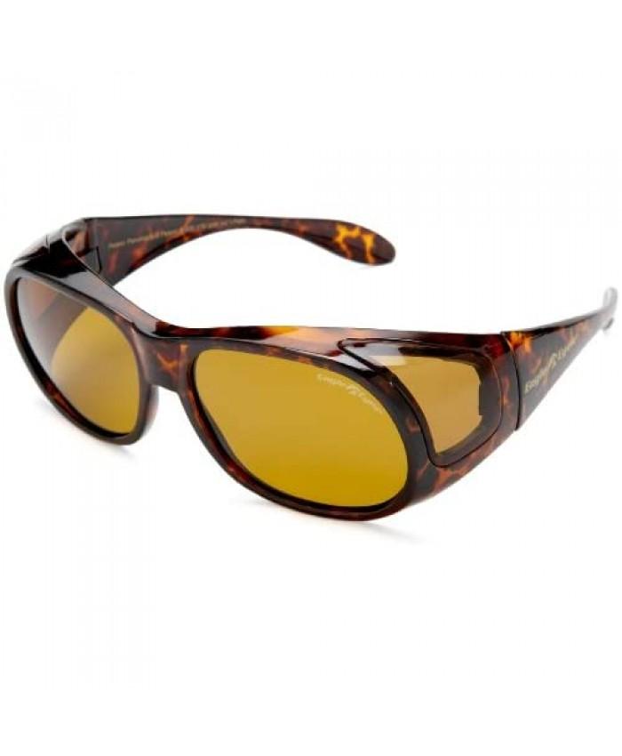 Eagle Eyes FitOns Polarized Sunglasses - Tortoise Shell