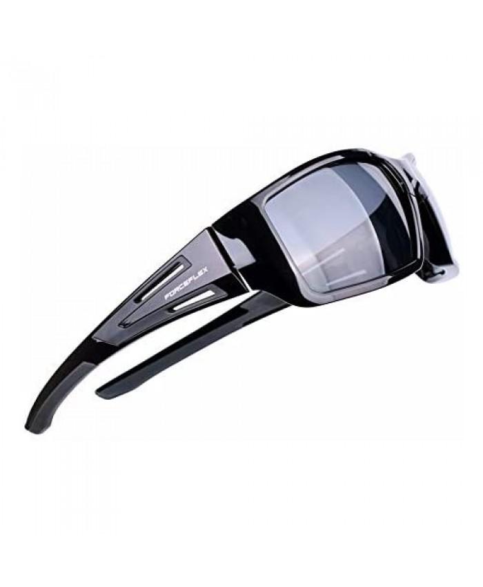 ForceFlex FF500 Sunglasses for Men or Women Black