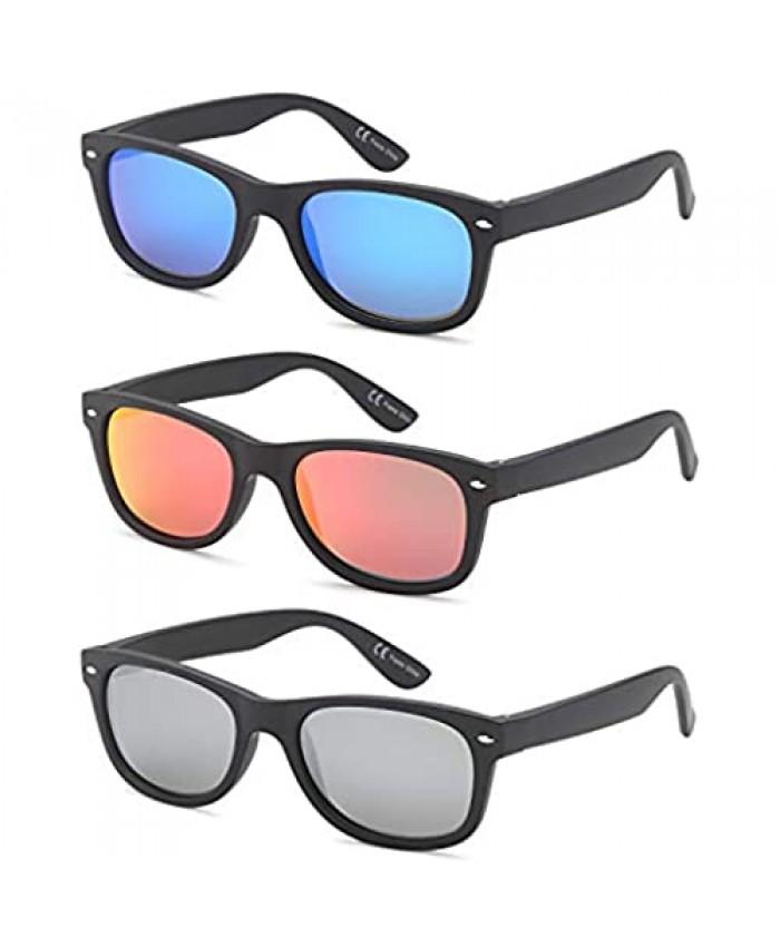 Gamma Ray Polarized Sunglasses Men and Women 3 Pack