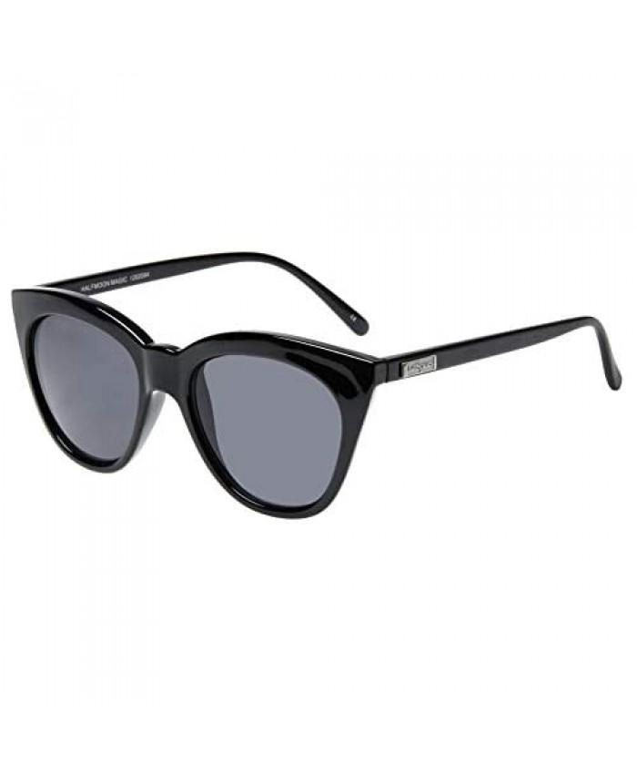 Le Specs. HALF MOON MAGIC womens BLACK eyewear