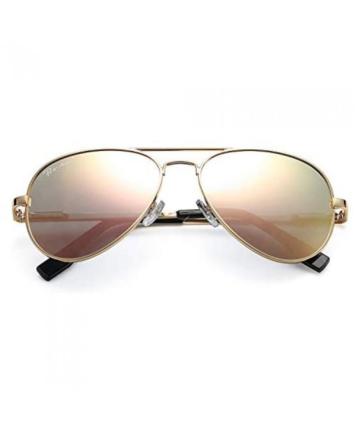 Pro Acme Polarized Aviator Sunglasses for Men and Women 100% UV Protection 58mm