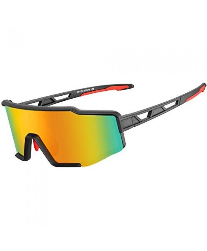 ROCK BROS Polarized Sunglasses for Men Women Cycling Glasses Sports Driving Bike Fishing Running Sunglasses TAC UV400 Protection