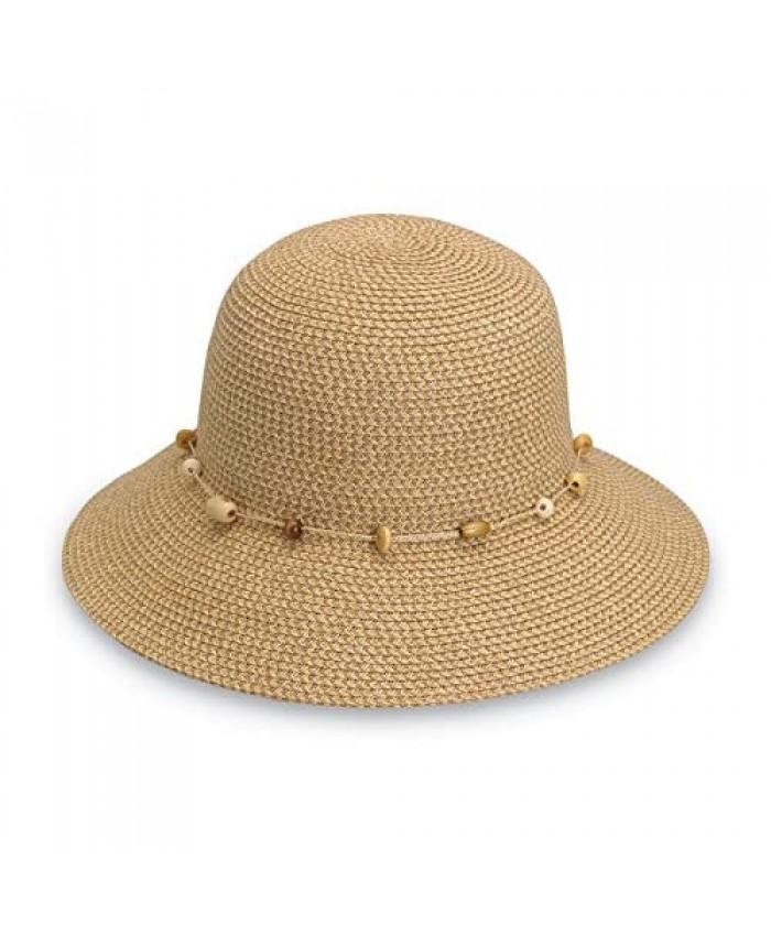 Wallaroo Hat Company Women's Naomi Sun Hat – UPF 50+ Packable Modern Style Designed in Australia