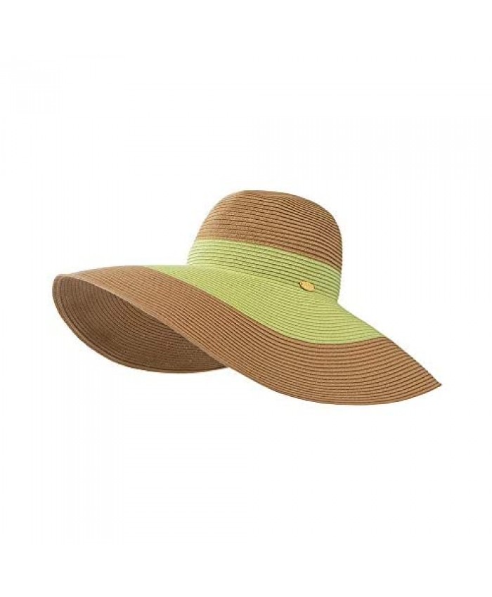Womens Sun Straw Hat Wide Brim Summer Hat Foldable Roll up Floppy Beach Hats UPF 50+