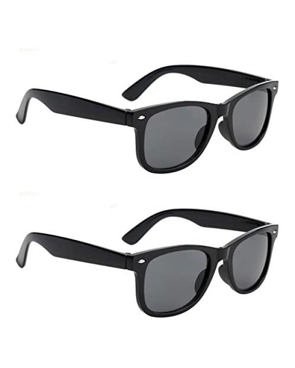 Big Kids Boys Girls Neon California Style Sunglasses Ages 6 - 10