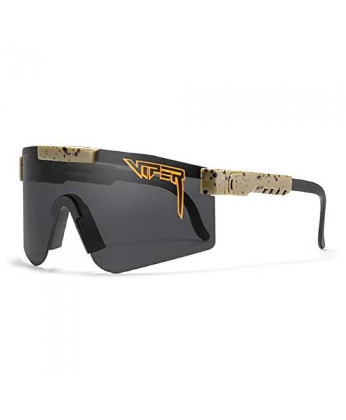 Black Sunglasses Outdoor Cycling Glasses for Women and Men Tr90 Frame UV400 Polarized Sunglasses for Sports Fishing Golf Baseball Running New