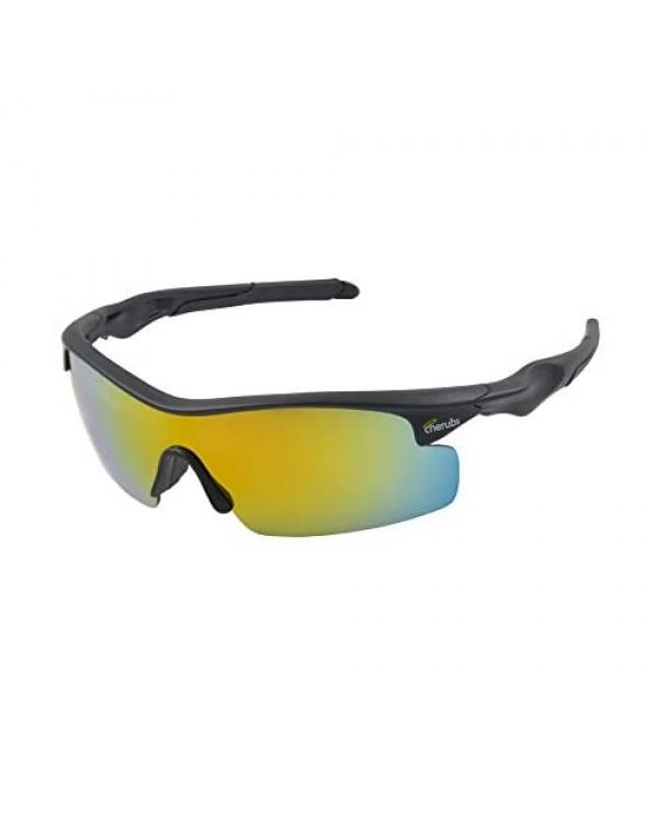 CHERUBS Kids Style and Sport Sunglasses - Boys or Girls - Flexible Comfortable - UV400 Optometrist Approved