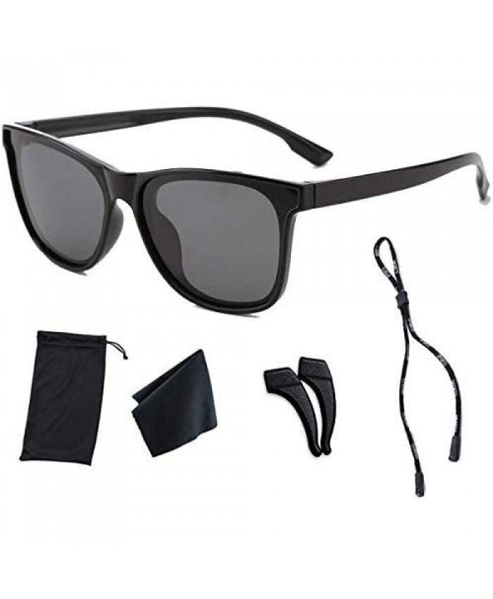 Polarized Sunglasses for Girls Ages 8-12 UV Protection for Sport Party Favors