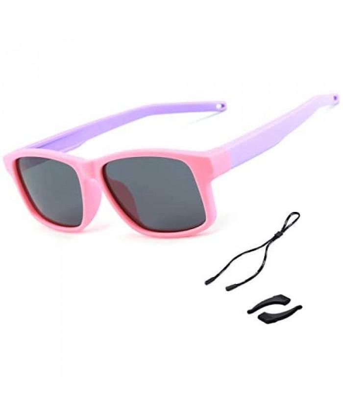 Toddler Baby Kids Aviator Sunglasses Girls Boys Polarized UV Protection Sport