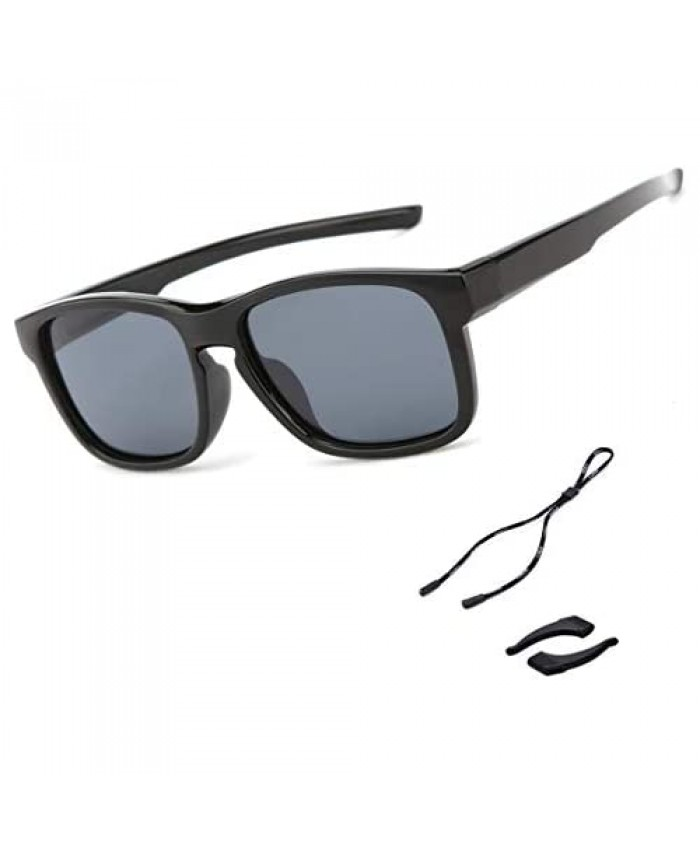 Toddler Baby Kids Sunglasses for Boys Girls Polarized UV Protection Flexible 1-3 for Sport Outdoor Baseball Party Favors